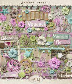 Summer Bouquet   Shabby Miss Jenn Designs