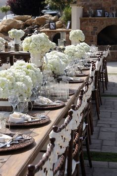 Table Scape and chair love!