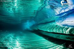 Inside a Wave. Photo by Alex Ormerod underwater-waves No Wave, All Nature, Amazing Nature, Ocean Waves, Ocean Beach, Beautiful World, Beautiful Places, Beautiful Ocean, To Infinity And Beyond