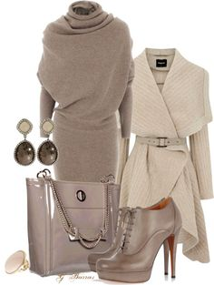 """Taupe"" by gaburrus on Polyvore"