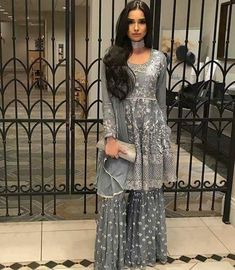 Are you searching for the best Punjabi Suit plus Classic ladies Salwar suits if so then CLICK Visit link above for more options Desi Wedding Dresses, Pakistani Wedding Outfits, Pakistani Bridal, Pakistani Dresses, Bridal Dresses, Pakistani Sharara, Indian Bridal Fashion, Indian Fashion Dresses, Indian Designer Outfits