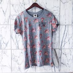 """Cotton On floral """"always be rad"""" t shirt NWT cotton on shirt from Australia. Cute floral pattern and fun phrase Cotton On Tops Tees - Short Sleeve"""