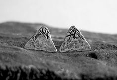 Snow Covered Mountains Earring