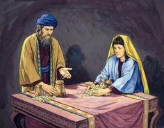 Que penser du cas Ananias et Saphira ? Ananias And Sapphira, Php, Painting Art, Sapphire, Articles, Acts 9, Revelation 2, Catechism, Christians