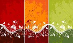 Resultado de imagen para vector background ornaments floral