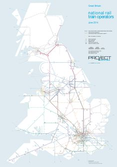 Every train line in Britain. | 21 Maps That Will Change How You Think About Britain