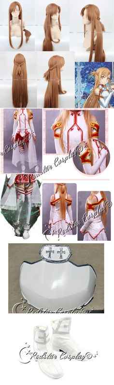 Asuna from Sword Art Online cosplay costume