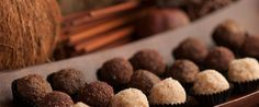 delicious guilt free goodies raw organic chocolate truffles, raw organic macadamia truffles & raw organic cranberry macaroons all totally gluten free