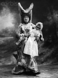 Alice in Wonderland (AKA why puppets are scary, Dr. Dave!) circa 1900