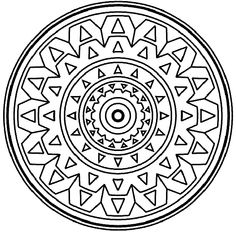 Mandala coloring page for beginners coloring supplies Crosswords for Beginners Coloring Pages for High Schoolers mandala for kids, definition