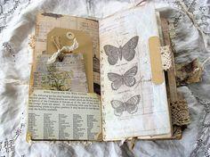 Travelers Notebook Junk Journal Nature Journal Smash Book