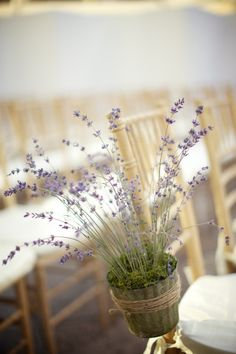 Long Island City Wedding at The Foundry from loli events Lavender Cottage, Lavender Garden, Lavender Flowers, Lavender Fields, Lavender Scent, Wedding Reception, Our Wedding, Dream Wedding, Fall Wedding Dresses