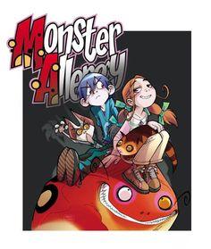 Monster Allergy: Un quiz per testare le vostre conoscenze! Dream Team, Allergies, Geek Stuff, Comic Books, Draw, Comics, Cover, Illustration, Anime