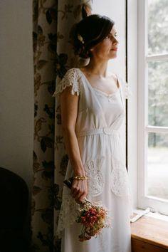 La novia, María · La diseñadora, Marcela Mansergas | Tendencias de Bodas Magazine |