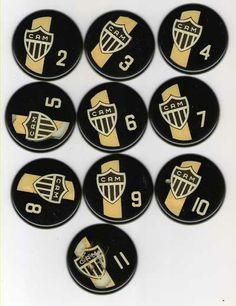 Futebol de botão personalizado do Atlético Mineiro 4