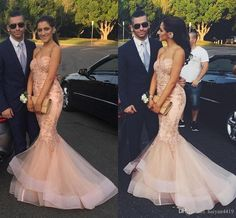 2017 New Sexy Prom Dresses 2k17 Sweetheart Blush Pink Lace Appliques Beaded Long Mermaid Zipper Back Evening Dress Party Pageant Formal Gown Prom Formal Dresses Scala Prom Dresses From Haiyan4419, $139.7| Dhgate.Com