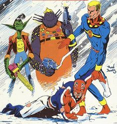 Marvelman and Captain Britain