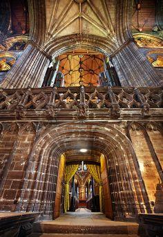 Inside Glasgow Cathedral #glasgow #glasgow2014 #scotland www.glasgow2014.com