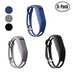 When fashion meets fitness, it's a wonderful thing. Specification: The stylish hollowed design / watchband-style design replacement bands are sold by Hotodeal. The Fitbit accessory band is specifically designed for Fitbit Flex ONLY. Tracker is not included  ¡ï Premium silicone: Made of...