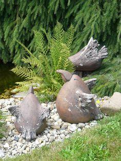 ЛАНДШАФТНЫЙ ДИЗАЙН САДОВОГО УЧАСТКА.ЧЕХИЯ.2 My Secret Garden, Awesome Bedrooms, Garden Gates, Yard Art, Landscape Design, Garden Sculpture, Flora, Birds, Outdoor Decor