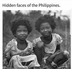 The Hidden faces of the Philippines Asian History, African American History, American Women, American Girl, Hidden Face, Black History Facts, African Diaspora, We Are The World, Black People