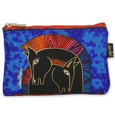 Beauty: Laurel Burch Horse Design Cosmetic bag - Embracing Horses: Buy New: £6.99 [UK & Ireland Only]