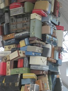 So much wonderful luggage!  My husband says I have way too many suitcases as it is!