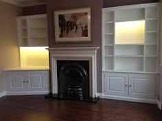 Collection 1000 Images About Alcove Lounge Ideas On on Furniture Creative Shelving Units For Living Room Alcove Storage, Alcove Shelving, Alcove Cupboards, Built In Cupboards, Tv Cabinets, Corner Shelving, Cream Living Rooms, Living Room Grey, Small Living Rooms