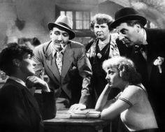 Viviane Romance con Georges Flamant, Fréhel, Jean Tissier e Jean-Louis Barrault