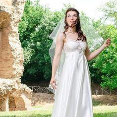 Trasparent wedding dress by Alessio Cristalli...