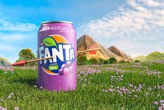 Fanta sabor Uva Fanta Can, Carbonated Drinks, Beverages, Canning, Fruit, Direct Marketing, Game Of Thrones, Strawberry Fruit, Home Canning