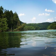 Dale Hollow Lake Kentucky Tennessee Border Crystal Clear Water Huge Lake With Little Islands