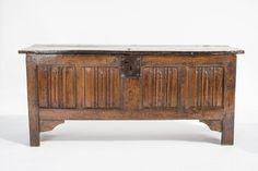 Henry VIII linenfold chest