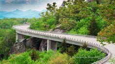 Blue Ridge Parkway, Near Grandfather Mountain, North Carolina