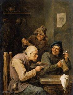 Schilderij De Hustle-Cap