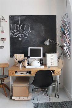 Pallet desk Plans.