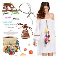 """""""pompoms and tassels"""" by paculi ❤ liked on Polyvore featuring Dolce&Gabbana and vintage"""