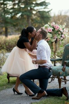 ♥ Interracial Couples...Cute ♥ @ColorBlindLove!♡