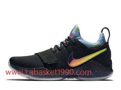 promo code 90746 9e8a5 Nike PG 1 EYBL Chaussures de Prix Pas Cher Pour Homme Noir Or 942303 001