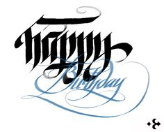 Calligraphy Unlimited / the Labelmaker by Jordan Jelev, mobile via Behance Calligraphy Types, Calligraphy Letters, Caligraphy, Arabic Calligraphy, Happy Birthday Calligraphy, Hand Lettering Practice, Amazing Art, Typography, Behance