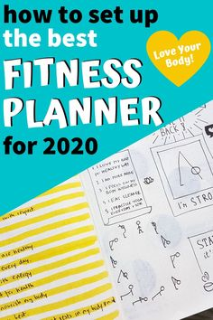 Here you can find the best fitness planner setup to create in 2020 Bujo Inspiration Planning a Fit Life in a bullet journal Fitness Journal, Fitness Planner, Up Fitness, Fitness Tracker, Journal Organization, Bullet Journal How To Start A, Positive Life, Fun Workouts, Bujo