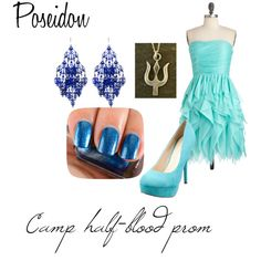 """Camp half-blood prom: Poseidon"" by fireflower10112 on Polyvore"