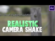 DigitalAE | Realistic Camera Shake [Using Real Footage] | After Effects CC Tutorial - YouTube