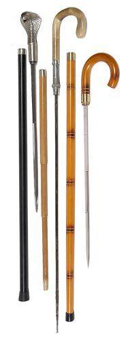 89. Three Sword Canes