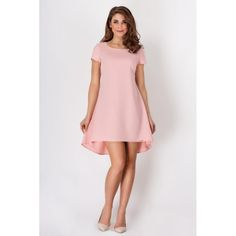 Look at this Awama Pink Pleated Trapezium Dress on today! Fashion News, Trendy Fashion, Spring Fashion, Women's Fashion, Cute Dresses, Short Sleeve Dresses, Summer Dresses, Tent Dress, Lingerie