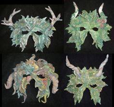 Four Seasons Greenmen Masks