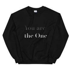 You are the One The One, Trends, Sweatshirts, Sweaters, Fashion, Moda, Fashion Styles, Trainers, Sweater