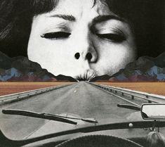 Sammy Slabbinck: collage, Surrealismo y Pop Art Collage Foto, Collage Kunst, Art Du Collage, Surreal Collage, Digital Collage, Photo Collages, Face Collage, Art Collages, Collage Frames