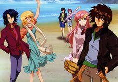 Suit mobil Gundam SEED Destiny: O zi la plajă - Minitokyo Anime Toon, Fanarts Anime, Anime Comics, Anime Characters, Disney Pictures, Love Pictures, Disney Pics, Anime Sites, Gundam Seed