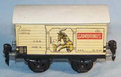 "Märklin 1688 Ged. Güterwagen ""Gambrinus"", Spur 0, 30er (33162)"